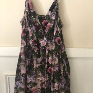 Beautiful fit and flair floral dress